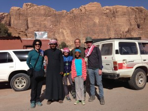 Saying farewell to our fabulous tour guide, Saleh