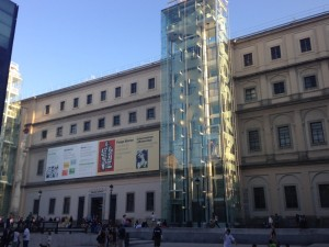 Entrance to the Reina Sofia.