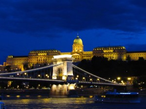 Beautiful Budapest by night.