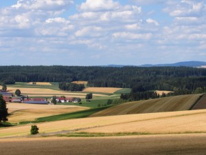 German countryside.