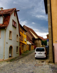 A side street in Rothenberg.