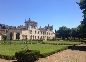 Villa Corsi Salviati in Sesto Fiorentino where I studied (we stopped by to take a look on our way in to Florience).