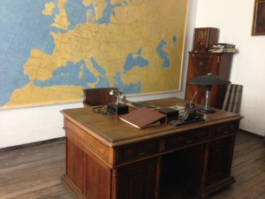 Oskar Schinder's office in the factory.